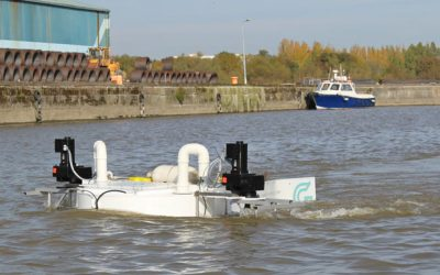 "GKinetic's ""OC1"" successfully deployed and tested at Limerick Docks"