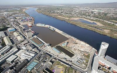 What makes the Limerick Docks an excellent location for marine technology testing?