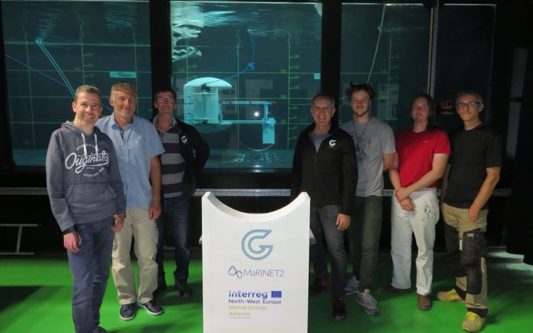 GKinetic's First Submerged Tidal Device