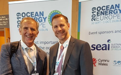 A fantastic 2 days at the 2019 Ocean Energy Europe Conference